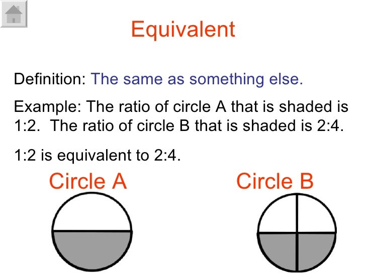 how to find equivalent ratios chemistry