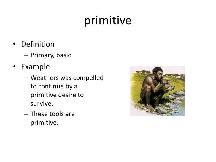 Vocab one constrict primitve