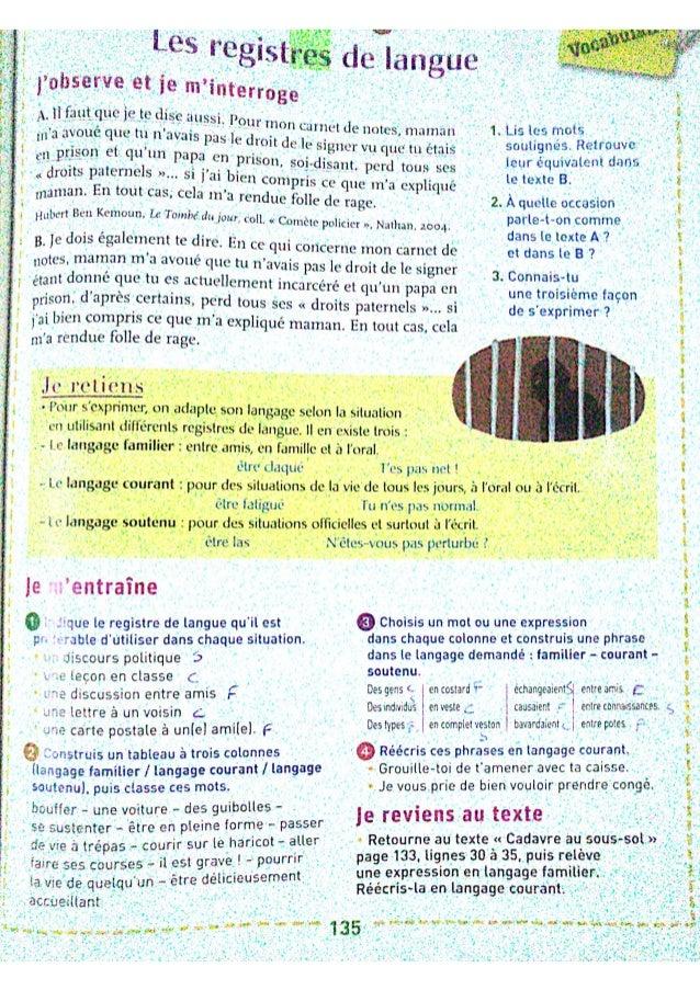 Leçons du livre Mot de passe, Vocabulaire évaluation 3 Slide 2