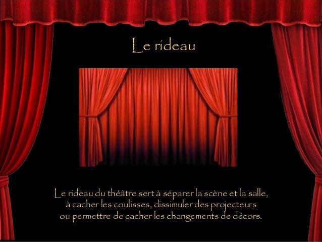 vocabulaire theatre