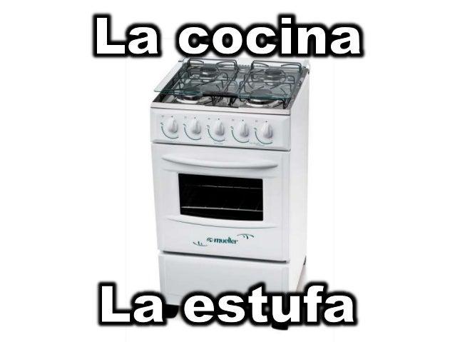 Vocabulario cosas de la cocina for Cosas de cocina