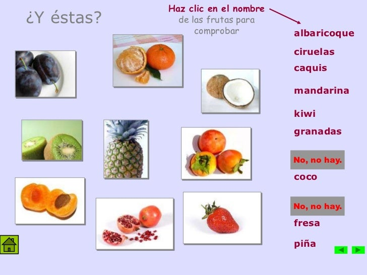 Vocabulario en im genes comida - Alimentos en ingles vocabulario ...