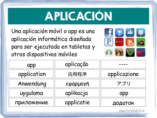APLICACIÓN Una aplicación móvil o app es una aplicación informática diseñada para ser ejecutada en tabletas y otros dispos...