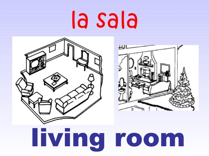 Rooms Of The House In Spanish