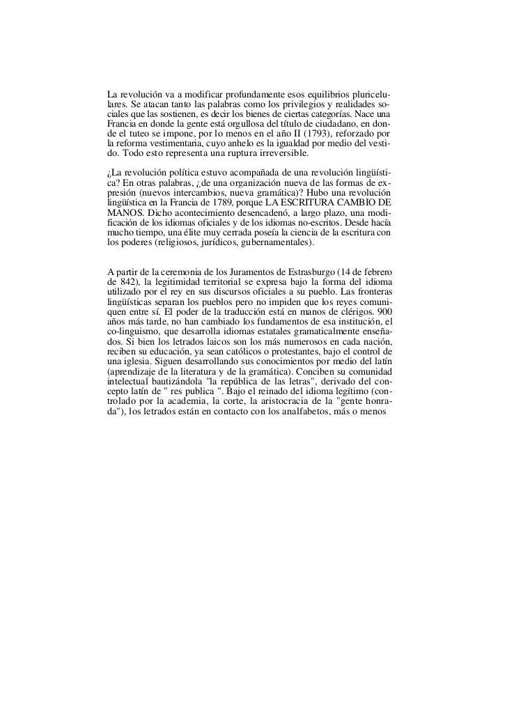 Vocabulario de la revolución francesa Slide 2