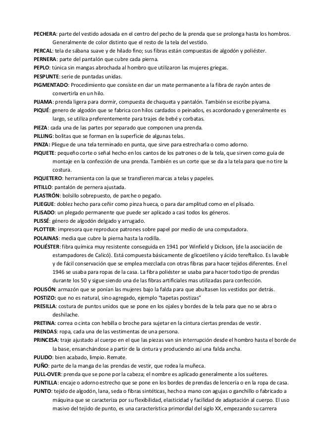 082b5e02 Vocabulario de patronaje y confección