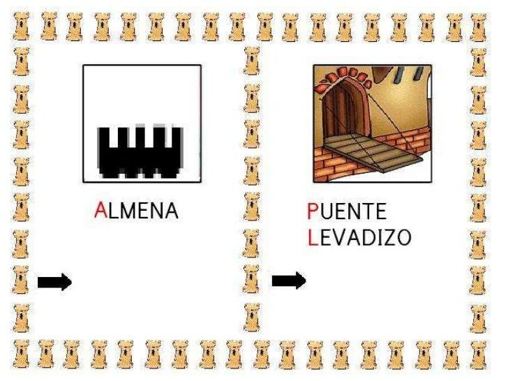 Vocabulario los castillo Slide 2