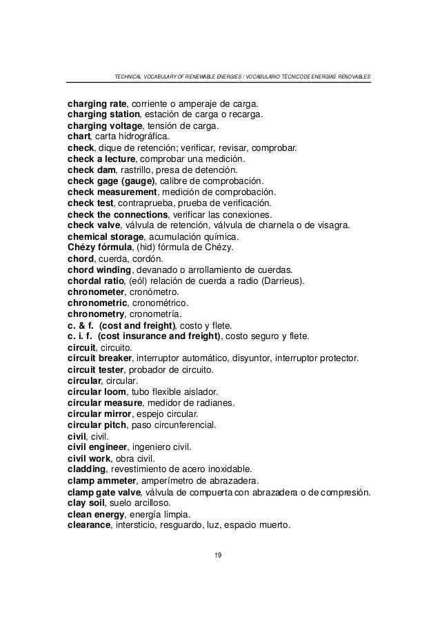 Pinzas Mecanicas En Ingles