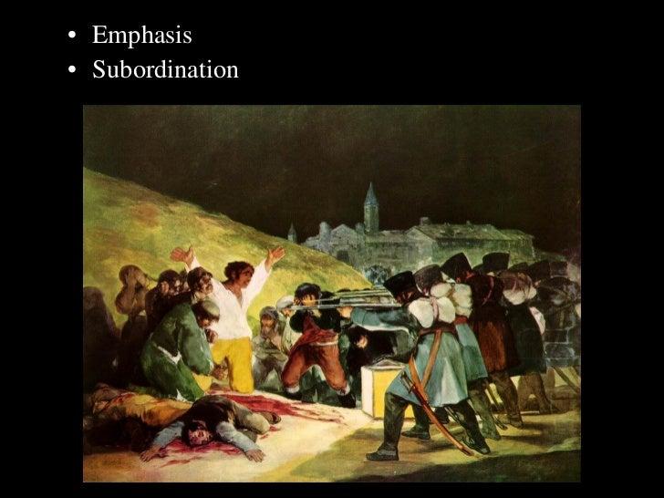 <ul><li>Emphasis </li></ul><ul><li>Subordination </li></ul>