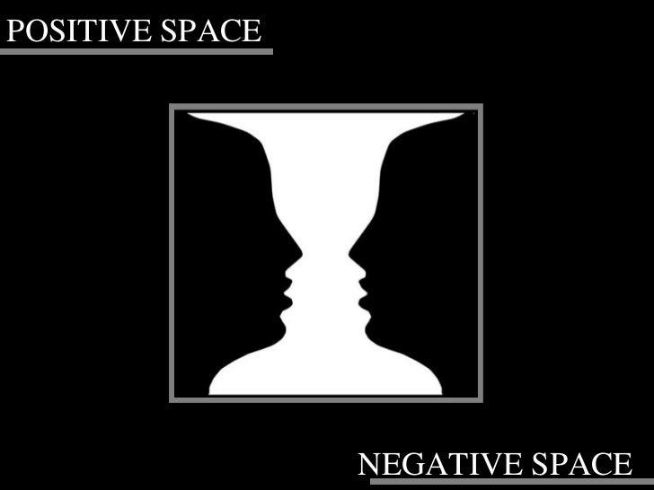 POSITIVE SPACE NEGATIVE SPACE