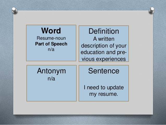 vocabulary list 26