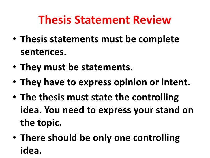 book review thesis statement Writing a thesis on module 2 contains excellent suggestions on how to read critically, and it may be helpful to review these insights as you begin your book review.