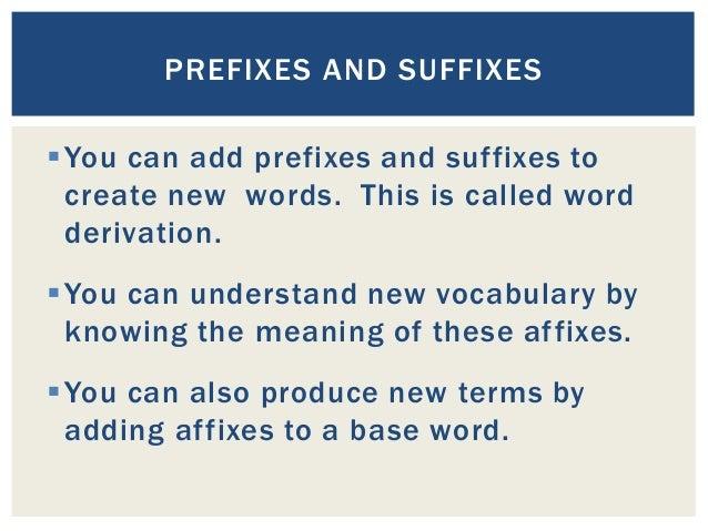 german prefixes and suffixes pdf