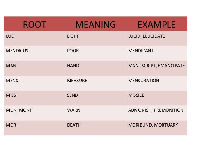 Vocabulary Cmat13