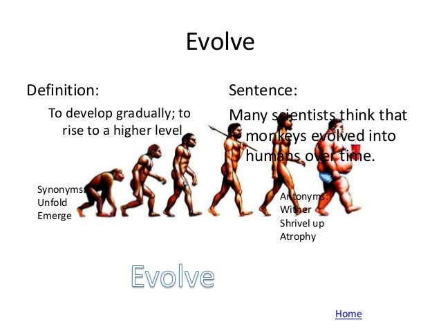 ... 14. Evolve Definition: ...
