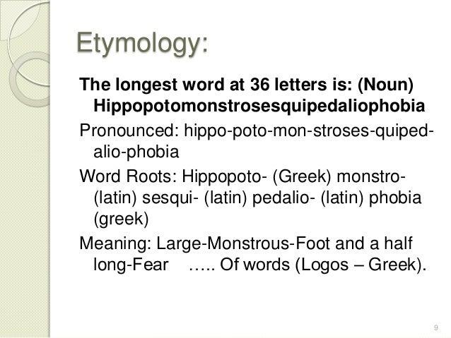 Longest Greek Letters In English