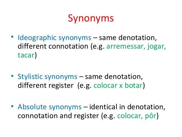 Same sex synonym