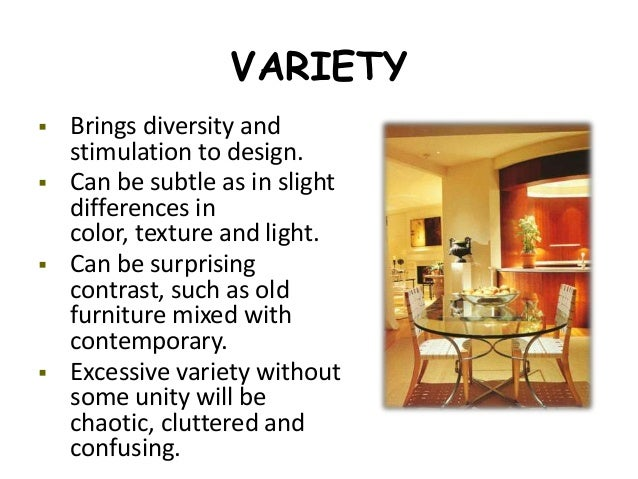 Vocabulary Of Interior Design