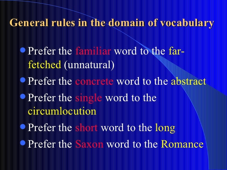 stylistic classification Stylistic classification of the english vocabulary the word-stock of a language can be represented as a system in which different aspects of words are singled out as interdependent for our purposes it is important to classify words from the stylistic point of view.