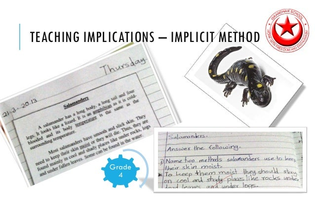 implicit and explicit instruction
