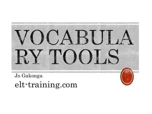 Jo Gakonga elt-training.com