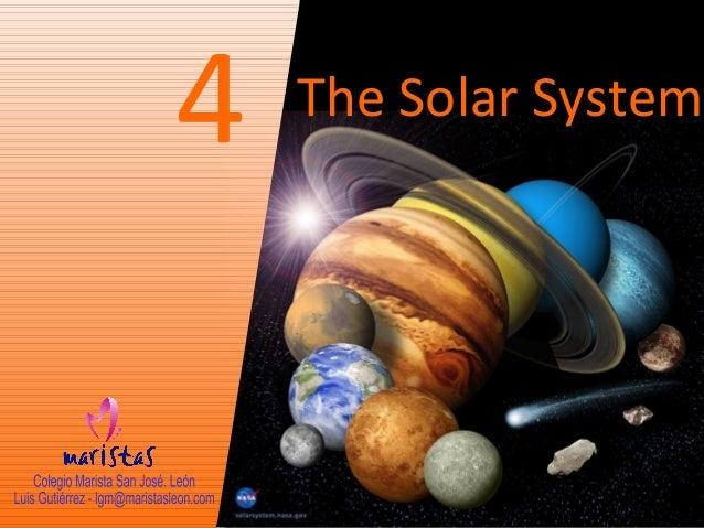 4  The Solar System