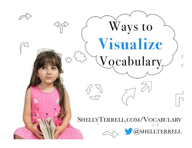 @SHELLTERRELL Ways to Visualize Vocabulary SHELLYTERRELL.COM/VOCABULARY