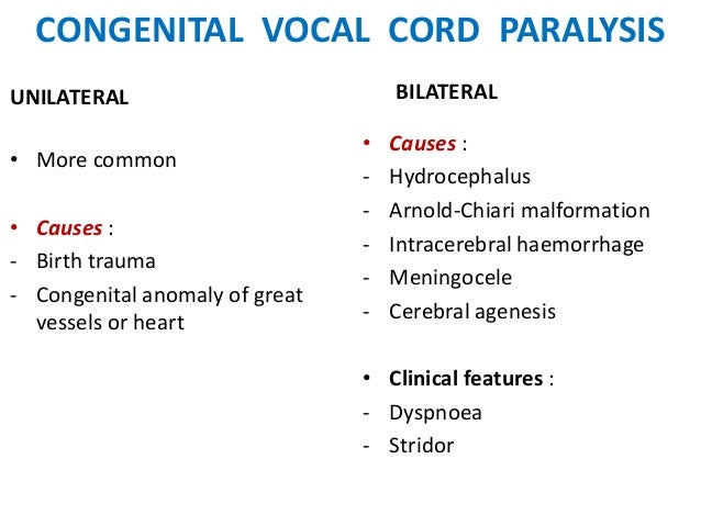 Vocal cord paresis - Wikipedia