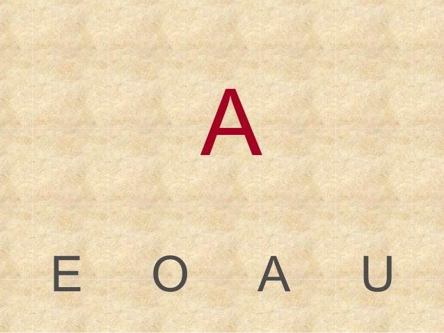 AE   O   A   U
