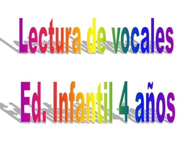 Vocales diptongos