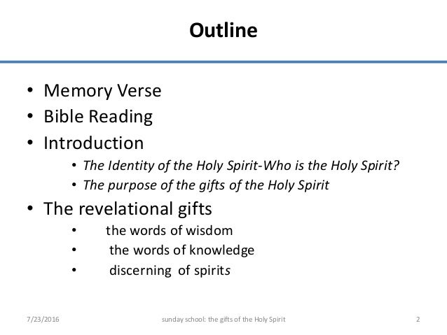 Vocal gifts gifts of holy spirit gifts of the holy spirit 1 2 outline memory verse bible negle Images