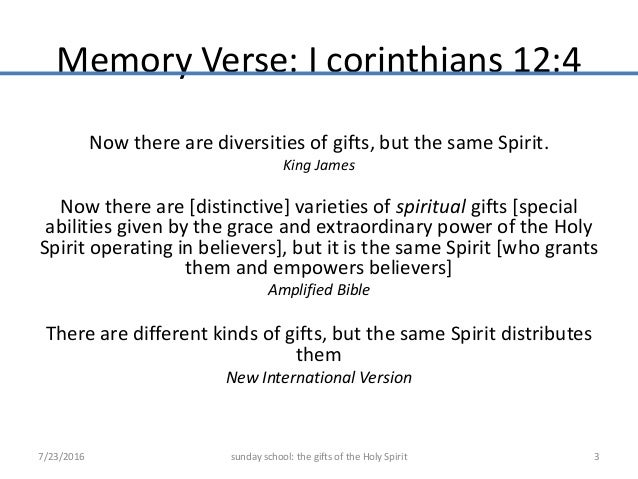 Vocal gifts gifts of holy spirit gifts of the holy spirit 2 3 memory verse negle Images