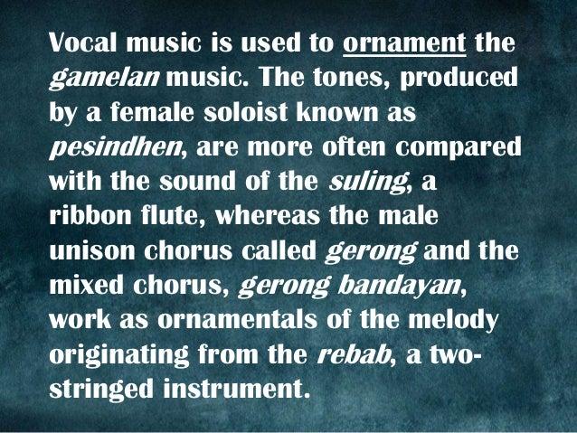 Music of Indonesia