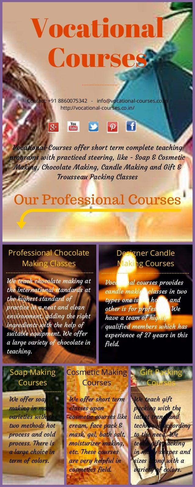 Vocational Courses Contact: +91 8860075342 - info@vocational-courses.co.in http://vocational-courses.co.in/ Vocational-Cou...