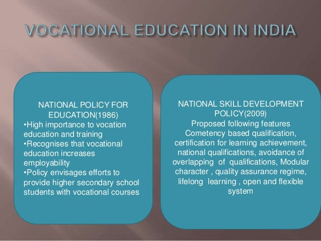 importance of technical and vocational education