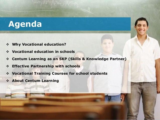 Vocational training programmes