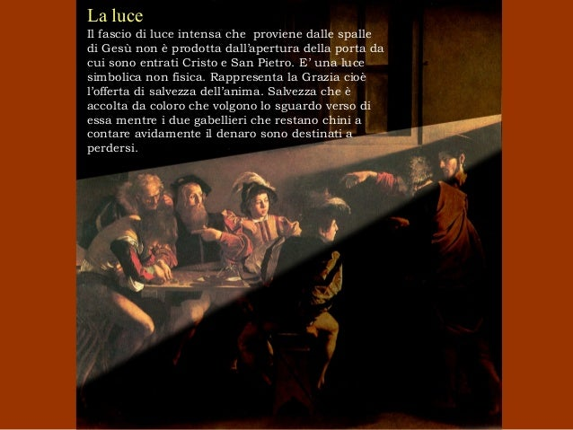 Caravaggio Vocazione Di San Matteo