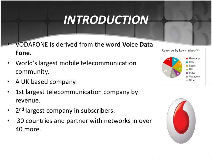 """promotional mix of vodafone Marketing mix – here is the marketing mix of vodafone swot analysis – here is the swot analysis of vodafone  mission - """" creating opportunities every day with the help of communication """"."""