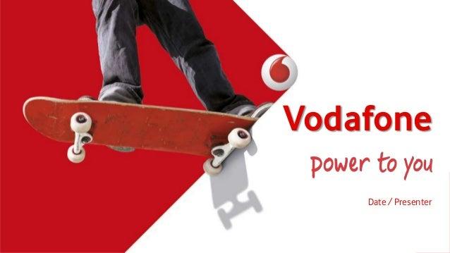 Vodafone Date / Presenter