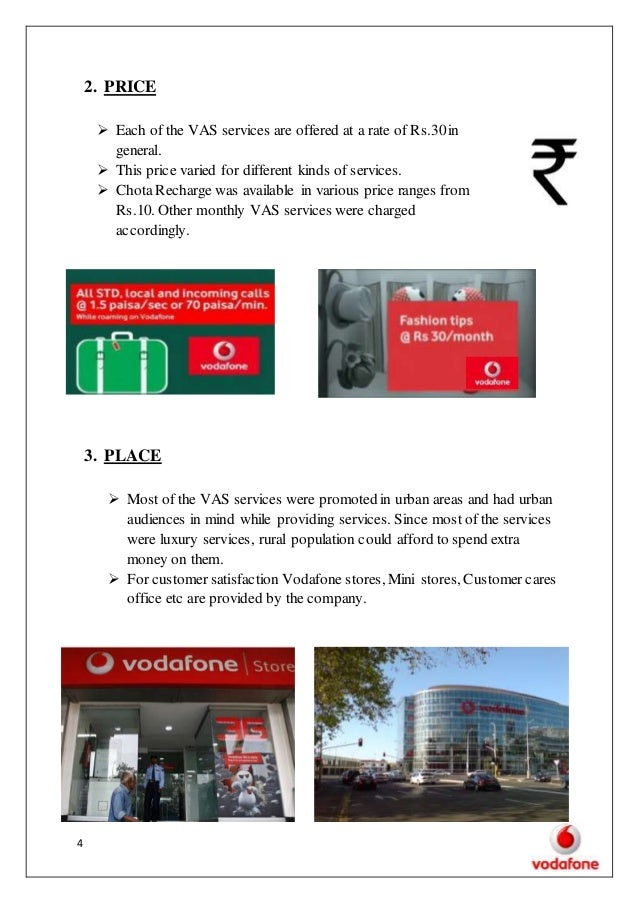 4ps of vodafone