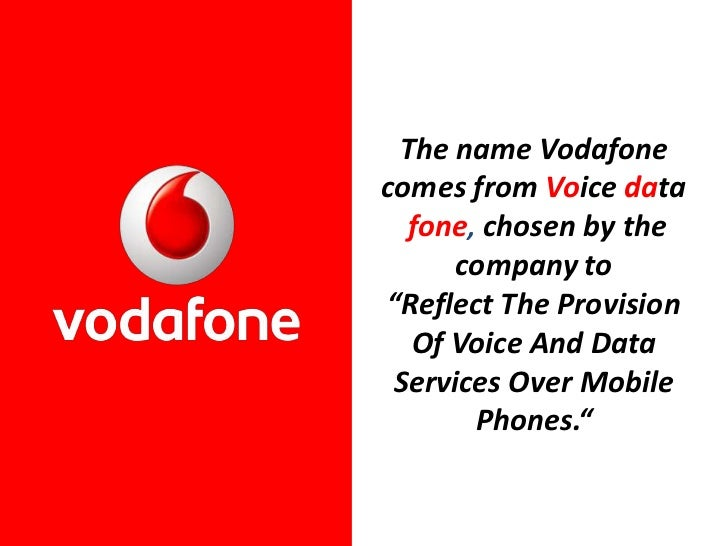 marketing strategies of vodafone Vodafone proprietary classified as c1 - public vodafone is one of the world's  strategy & lifecycle marketing improved personalisation increased collaboration.