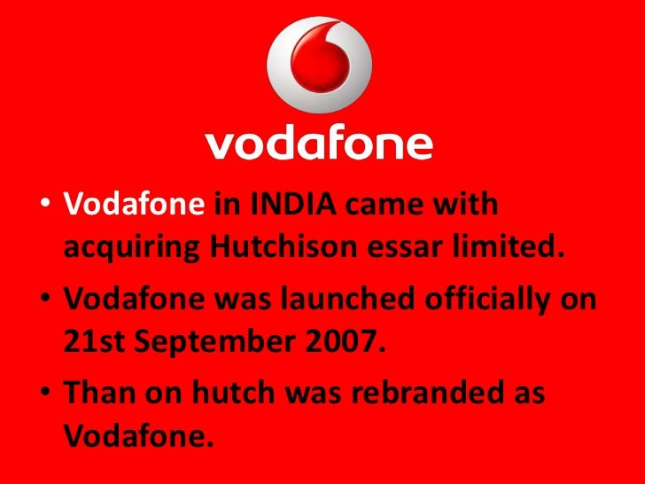 vodafone marketing plan If you want to predict the marketing strategy of reliance jio, try to understand the basic personality of mukesh ambani and his thought process  what was the.