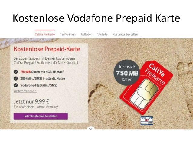 Vodafone Kostenlos Karte