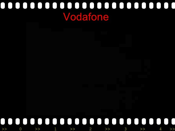 vodafone advertising strategies analysis Vodafone is a telecom company and mobile phone service provider and it welcomes everybody to use their technology this mobile phone company has targeted the.