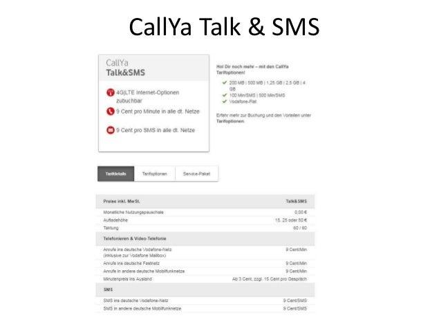 Sim Karte Bestellen.Vodafone Callya Freikarte Kostenlose Simkarte Bestellen