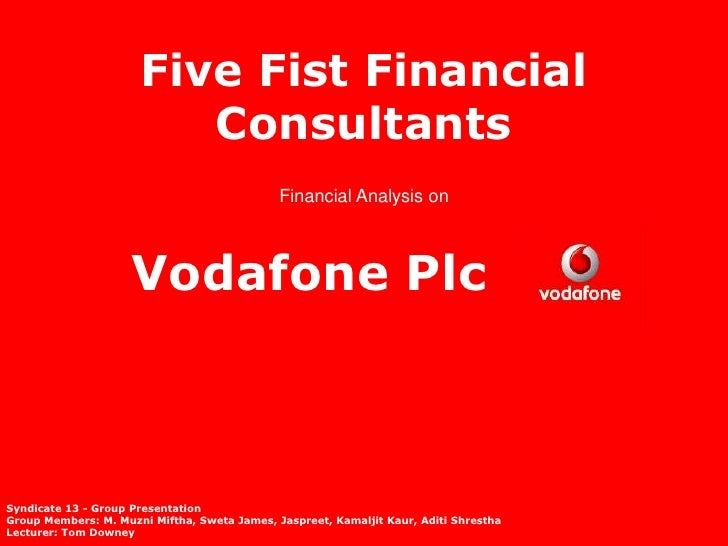 Five Fist Financial                         Consultants                                              Financial Analysis on...