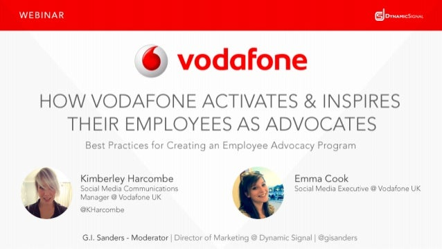 #DySiWebinar 2@KHarcombe @gisanders@VodafoneUK Have A Question For Us? Use ReadyTalk Ask On Twitter Use #DySiWebinar