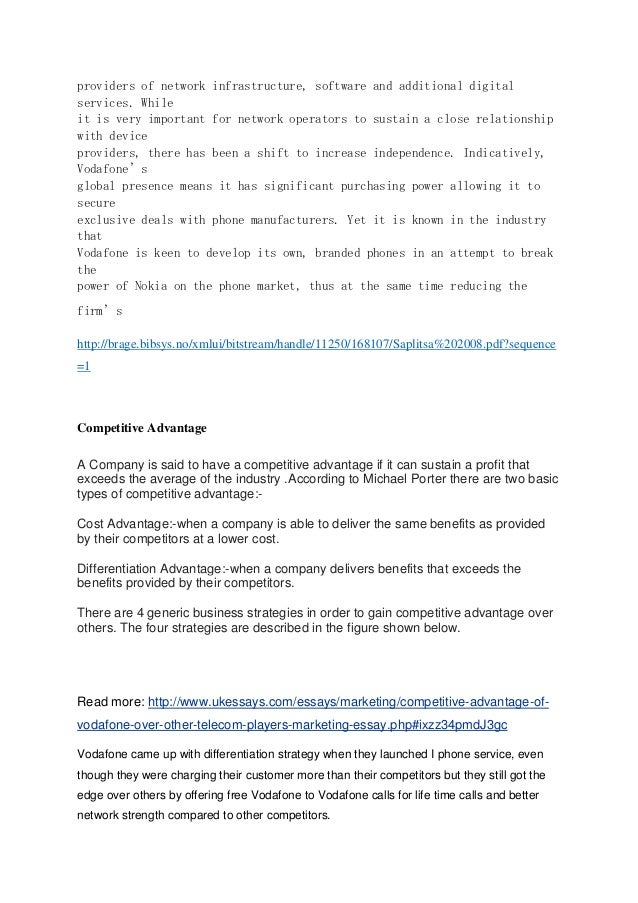 swot analysis for vodafone plc Vodafone swot analysis, segmentation, targeting & positioning (stp) are covered on this page analysis of vodafone also includes its usp, tagline / slogan and competitors.
