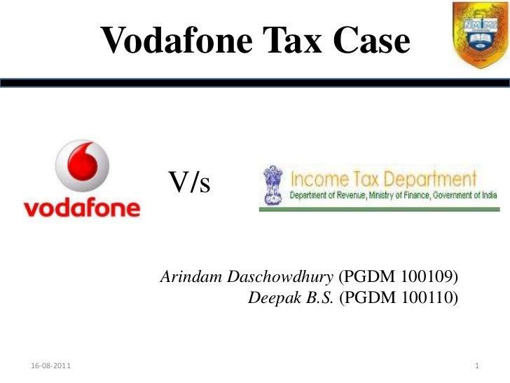 Vodafone tax evasion case study