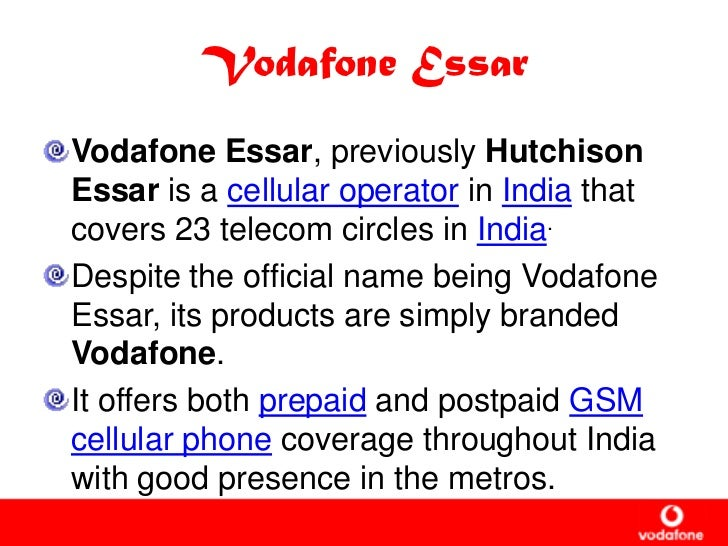 vodafone market environment analysis Essays - largest database of quality sample essays and research papers on pestel analysis of vodafone.
